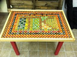 bottle cap furniture. Bottle Cap Table Furniture F