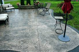 concrete patio cost vs stamped a pavers per square foot