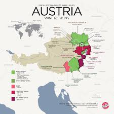 Wine Folly Chart Get To Know Austrian Wine With Map Wine Folly Italian