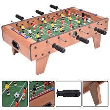 Miniature Wooden Foosball Table Game Costway Rakuten Costway 100'' Foosball Table Competition Game 48