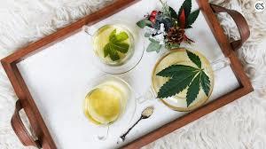 cannabis leaf tea benefits