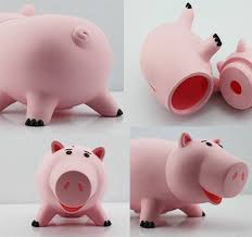 details about hot story hamm kid piggy money box toy piggy bank coin cash baby gift