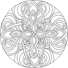 Small Picture Difficult Mandala Coloring Pages click mandala to begin free