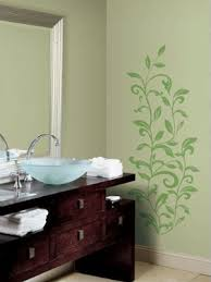 Small Picture Brilliant Bathroom Wall Paint Designs Decorative Painting Cool 1