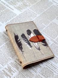 feather leather binder removable organizer notebook designer sofia notebooks journals i