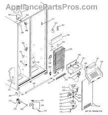 ge wr51x10055 defrost heater and bracket assembly part diagram