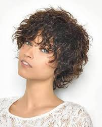 Hairstyle Wavy Hair Women Photos Trends With Bangs Short Haircuts