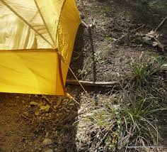 the corners of the inner tent form a high bathtub floor