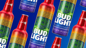 Bud Light Bud Light Is Selling Beer In Rainbow Bottles In June To