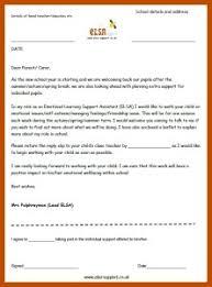 Parental Permission Letters Elsa Support