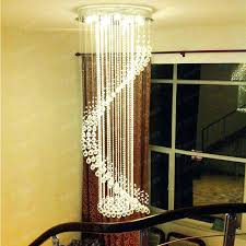 chandelier for high ceiling stairway crystal chandelier high ceiling led lamp item 5 install chandelier high chandelier for high ceiling