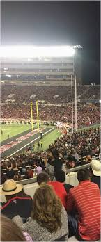 Texas Tech Stadium Map Jones At T Stadium Texas Tech