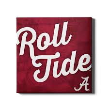>alabama crimson tide roll tide a officially licensed canvas  alabama crimson tide roll tide a canvas