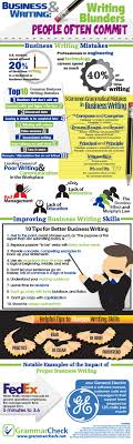 17 best ideas about business writing skills writing top 10 common business writing blunders 5 everyday grammatical mistakes infographic