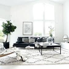 black and white carpet morocco style handmade carpet geometric rug plaid striped modern black white red