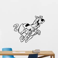 scooby doo wall decal cartoon dog vinyl sticker kids poster nursery decor 232zzz