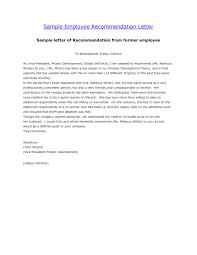 Employment Reference Letter Samples Infoe Link