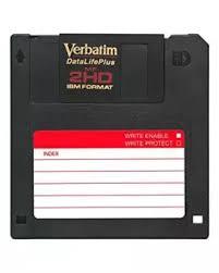 10pcs 2hd Floppy Disks Black