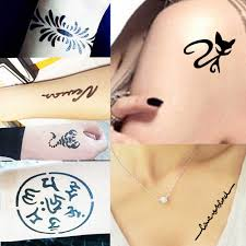 1 шт временная аэрограф трафарет для татуировки хной для для женщин тела