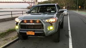 4runner Led Fog Lights Toyota 4runner Trd Pro Led Foglights Youtube