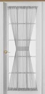french doors curtains. Interesting French Sheer Voile 72Inch French Door Curtain Panel White Throughout Doors Curtains T