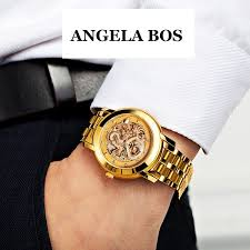 aliexpress com buy angela bos gold dress watch for men dragon below are the picturs which tooks from the real item fyi