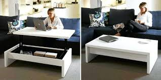 coffee table converts into desk turns to uk