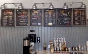 coffee shop lighting. Featured Customer | Inspiration Board Leads To Barn Lighting For New Coffee Shop T