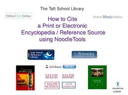 How To Cite How To Cite Print And Electronic Reference Sources Using
