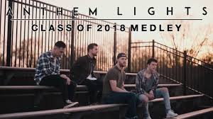 America Medley Anthem Lights Sheet Music Class Of 2018 Medley