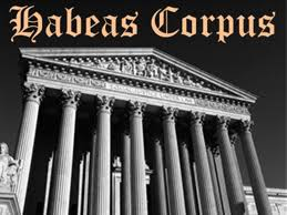 Image result for writ of habeas corpus
