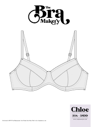 Bra Grading Charts Meet The Chloe The New Underwire Bra Pattern From The