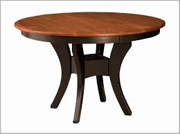 solid wood trestle dining table elegant amish round dining table new this imperial single pedestal table is