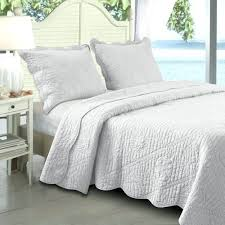 White Twin Quilts – boltonphoenixtheatre.com & ... Greenland Home Fashions La Jolla White King Quilt Set Quilted Ocean  Life White Comforter Twin Xl ... Adamdwight.com