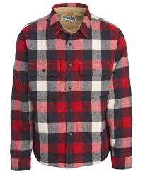 Men's Quilted Mill Wool Insulated Shirt Jac by WOOLRICH® The ... & Men's Quilted Mill Wool Insulated Shirt Jac ??? Adamdwight.com