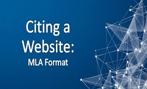 Mla Website Citation Citing A Website Mla Rules And Examples To Follow
