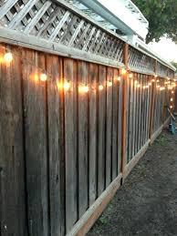 outdoor fence lighting ideas solar lights for garden best on in fixtures