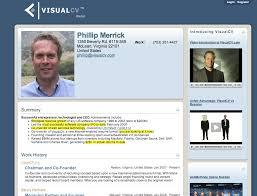 Visual Cv Builder Visualcv Thinks Its Time To Update That Resume Techcrunch