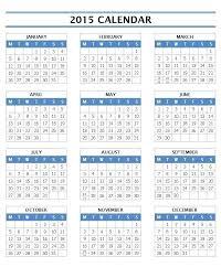 Editable 2015 Calendar Template