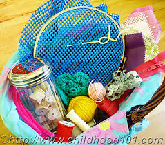 toddler friendly sewing basket great for toddlers and preers