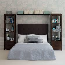 Creative Storage Ideas For Small Space Bedroom Add A Curtain In Between  That Covers An Uneven