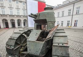 Renault FT-17 Tank Which Fought On Polish Side In 1920 Polish-Soviet War