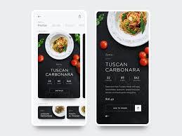 restaurant menu design app daily ui 09 food app restaurant menu by steve louk on dribbble