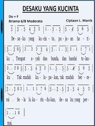 Dibawah ini saya sajikan not angka,not balok dan liriknya dalam bentuk gambar jpg, jpeg dan png. Not Angka Lagu Yang No 1