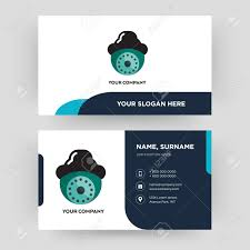 Card Design Template Security Camera Business Card Design Template Visiting For