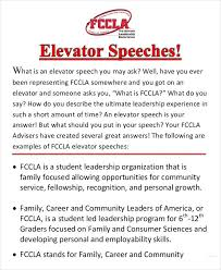 Elevator Pitch Examples For Students 13 Elevator Speech Examples Samples In Pdf Peoplewho Us