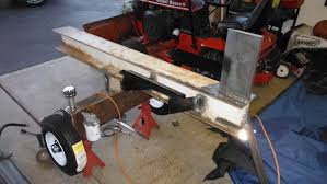 prev next building homemade log splitter