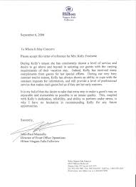 Sample Of Recommendation Letter From Previous Employer