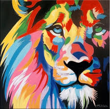 lion painting acrylic. Modren Lion And Lion Painting Acrylic