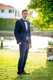 navy suit wedding. Navy suit for nautical wedding Image Polka Dot Bride